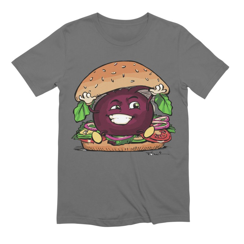 Pete The Beet Men's T-Shirt by Water and Wheat's Artist Shop