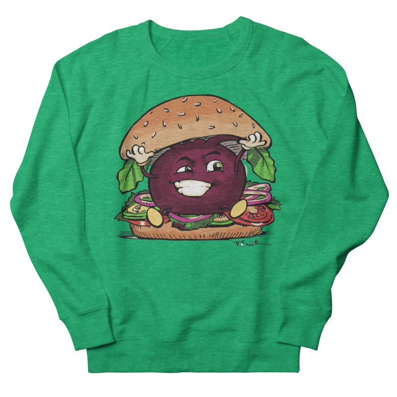 Pete The Beet Women's Sweatshirt by Water and Wheat's Artist Shop