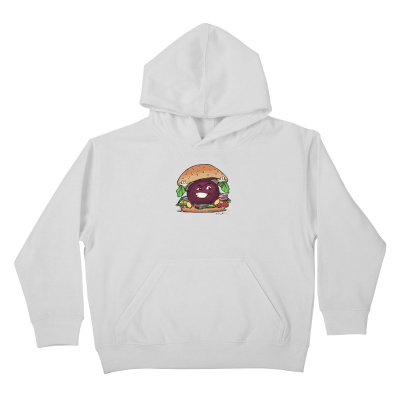 Pete The Beet Kids Pullover Hoody by Water and Wheat's Artist Shop