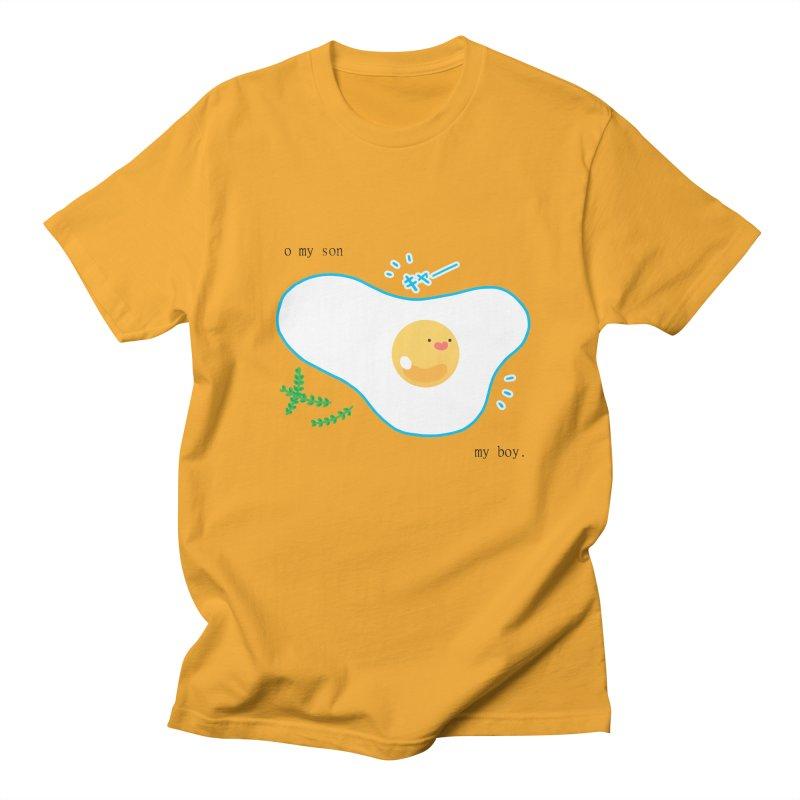 tamago-kun Men's Regular T-Shirt by Hey there, Waterbear!