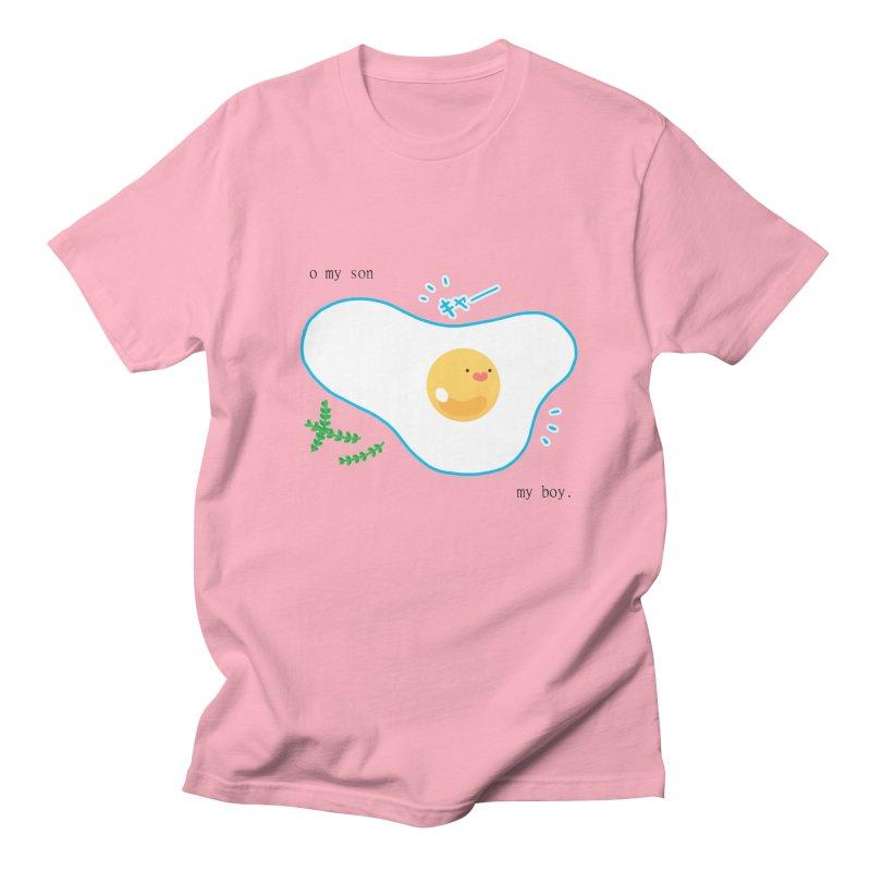 tamago-kun Women's Regular Unisex T-Shirt by Hey there, Waterbear!