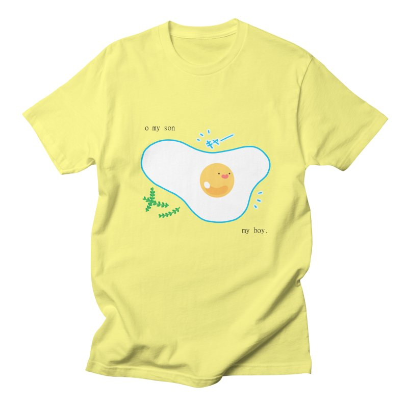 tamago-kun Women's Unisex T-Shirt by Hey there, Waterbear!