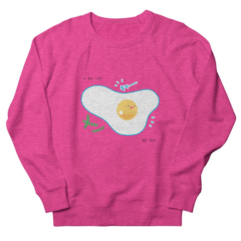 tamago-kun Women's French Terry Sweatshirt by Hey there, Waterbear!