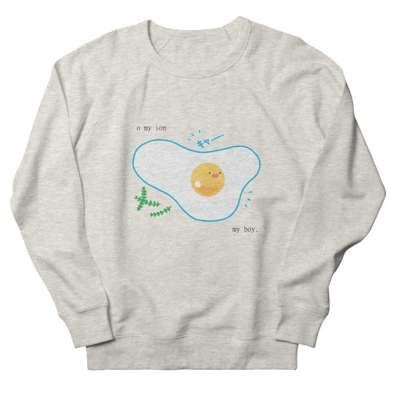 tamago-kun Women's French Terry Sweatshirt by Hey there, Waterbear!
