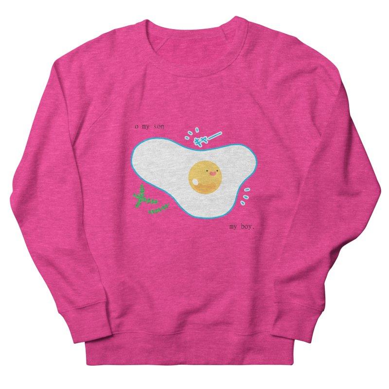 tamago-kun Men's French Terry Sweatshirt by Hey there, Waterbear!