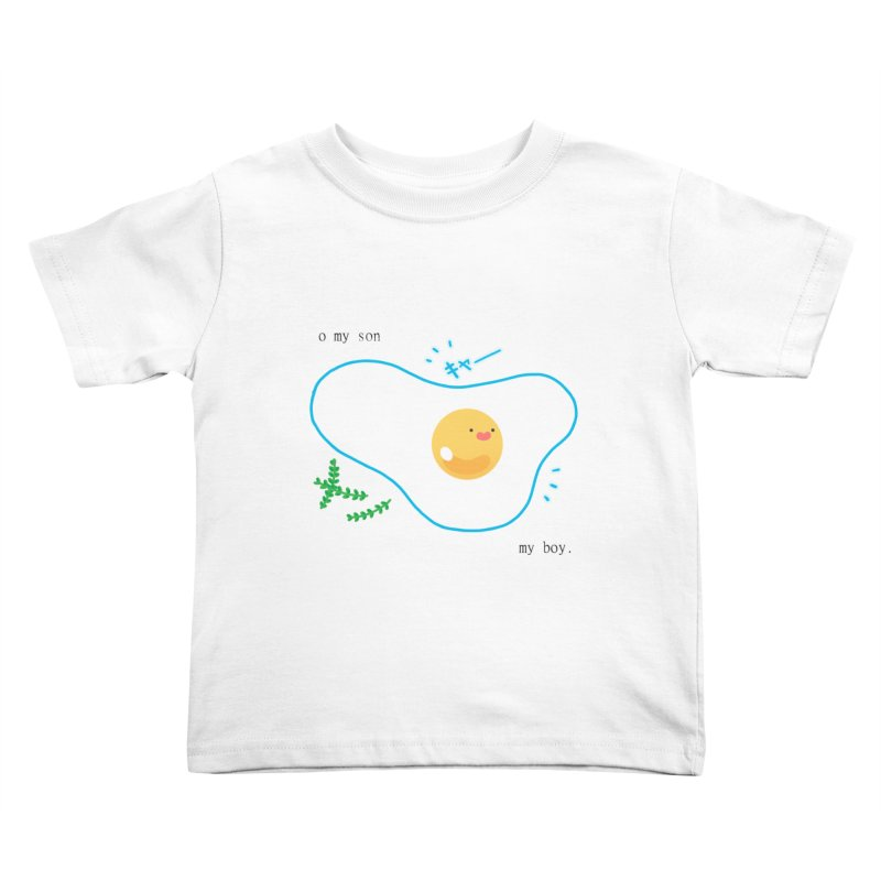 tamago-kun Kids Toddler T-Shirt by Hey there, Waterbear!