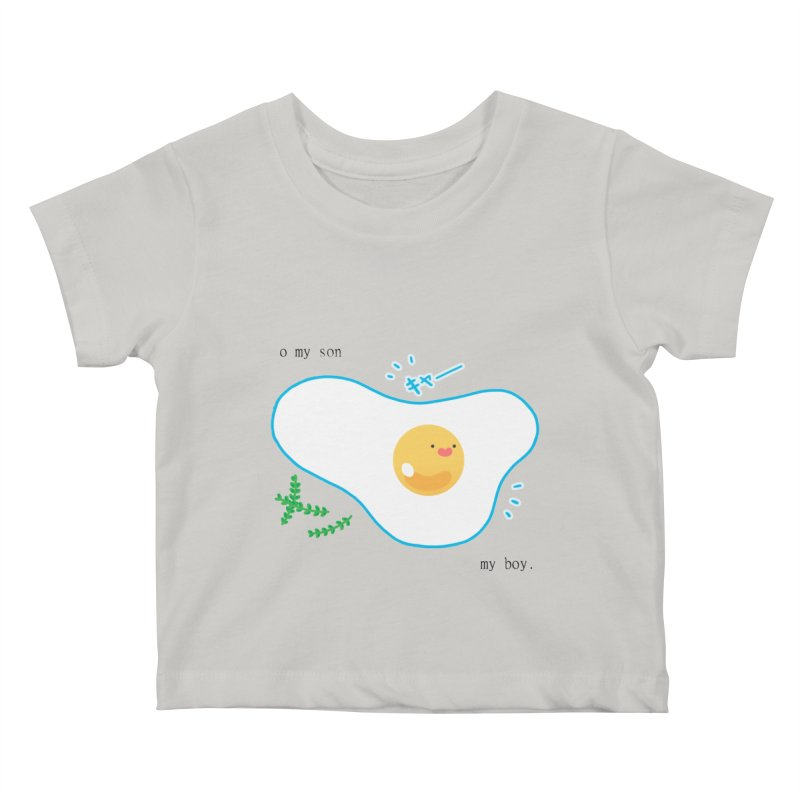 tamago-kun Kids Baby T-Shirt by Hey there, Waterbear!