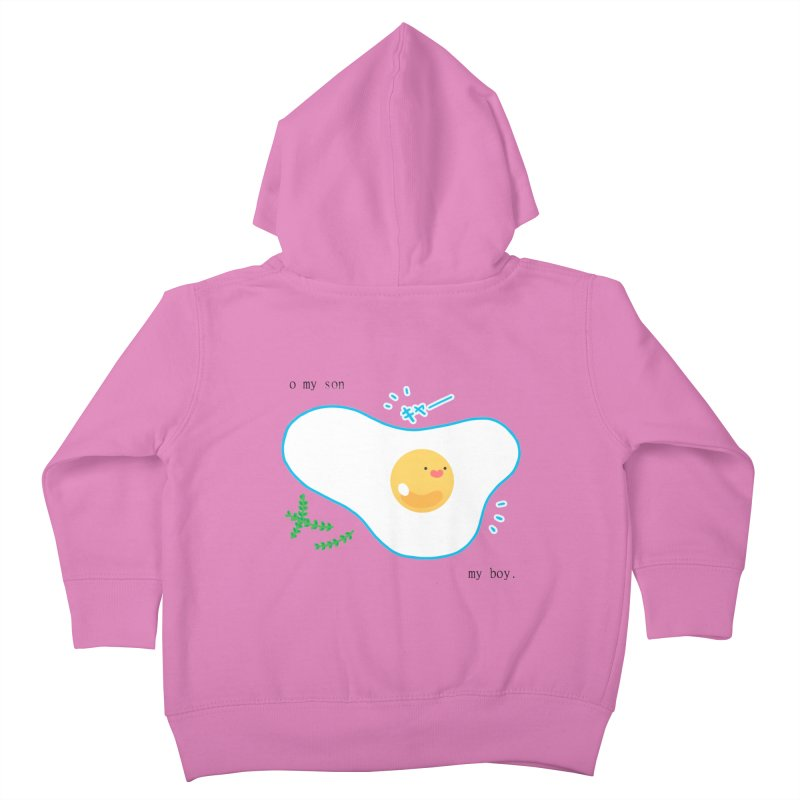 tamago-kun Kids Toddler Zip-Up Hoody by Hey there, Waterbear!