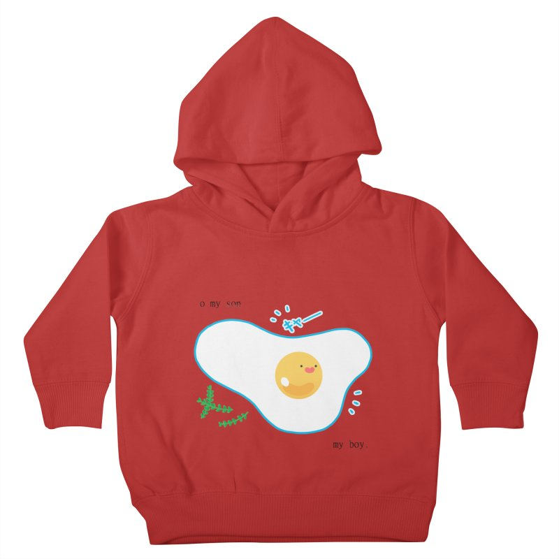 tamago-kun Kids Toddler Pullover Hoody by Hey there, Waterbear!