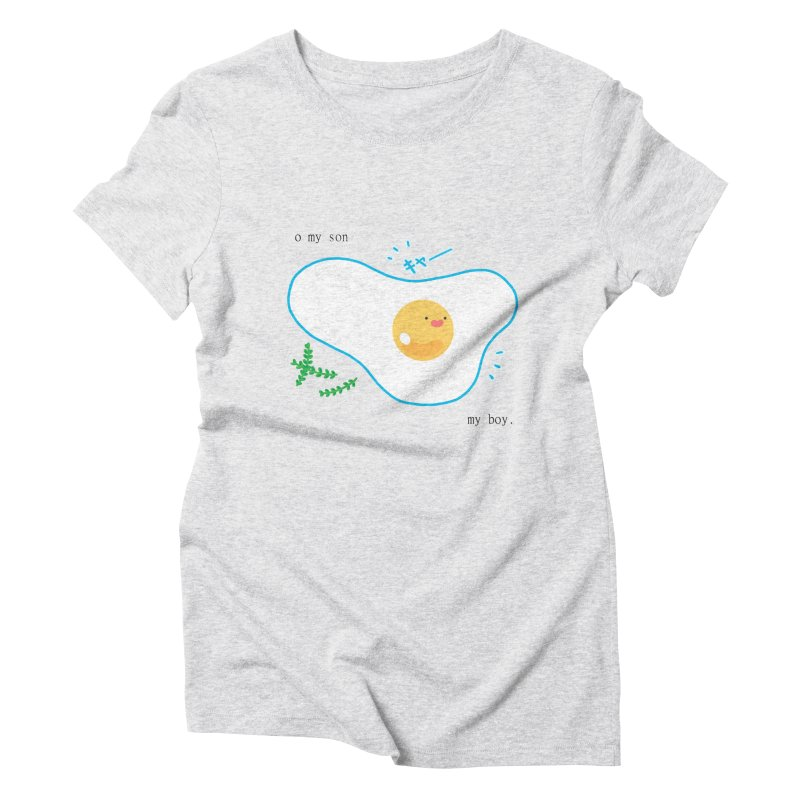 tamago-kun Women's Triblend T-shirt by Hey there, Waterbear!