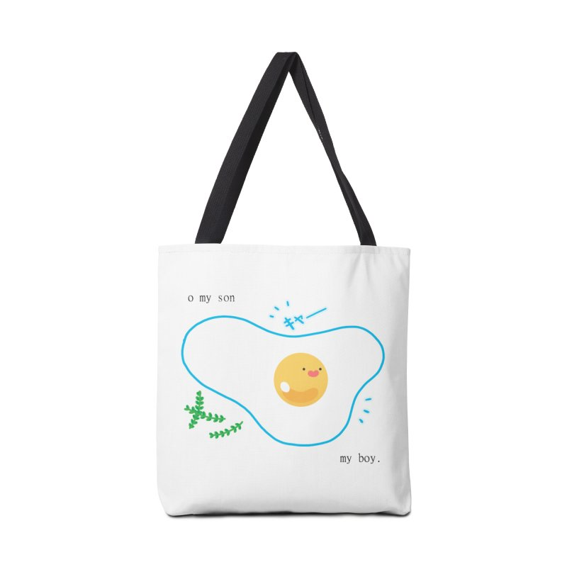 tamago-kun Accessories Bag by Hey there, Waterbear!