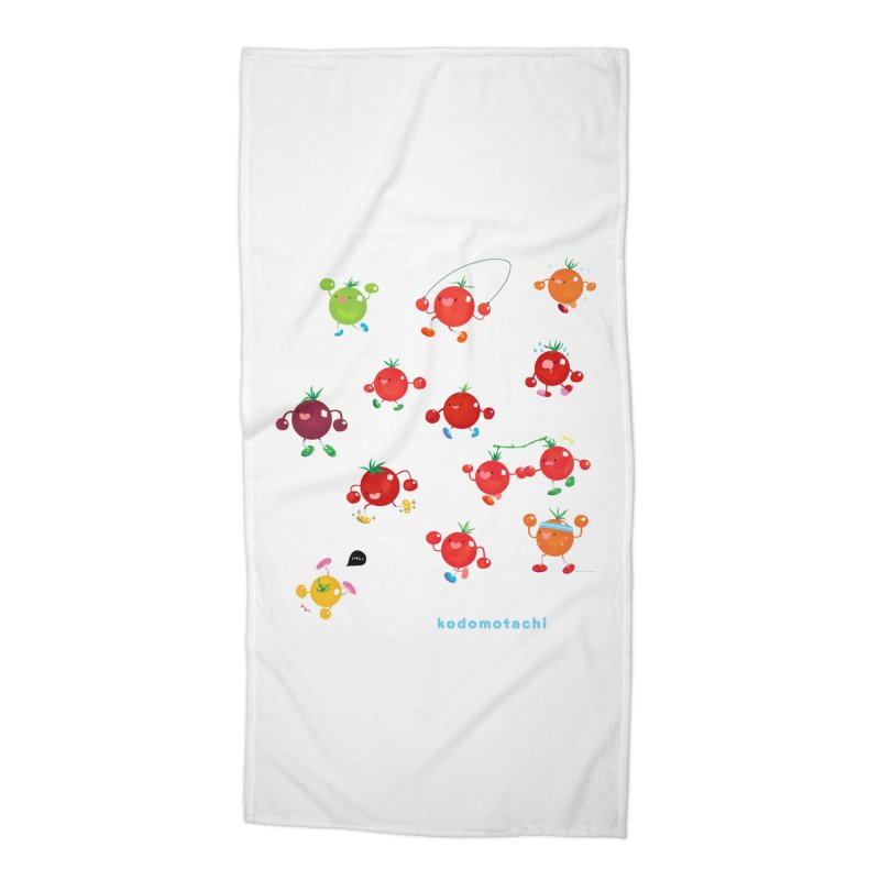 kodomotachi Accessories Beach Towel by Hey there, Waterbear!