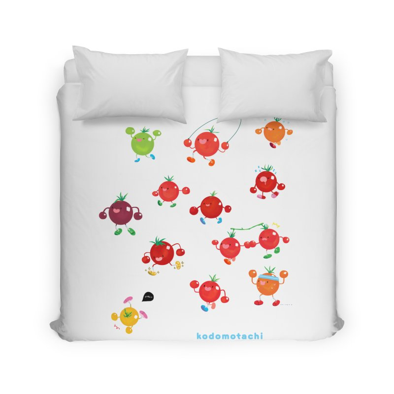 kodomotachi Home Duvet by Hey there, Waterbear!