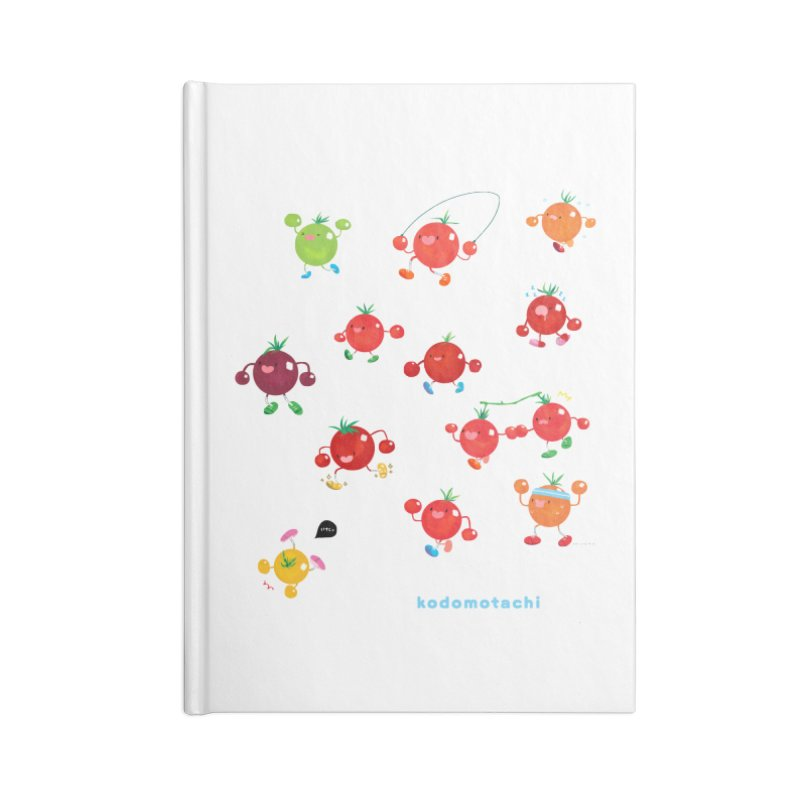 kodomotachi Accessories Notebook by Hey there, Waterbear!