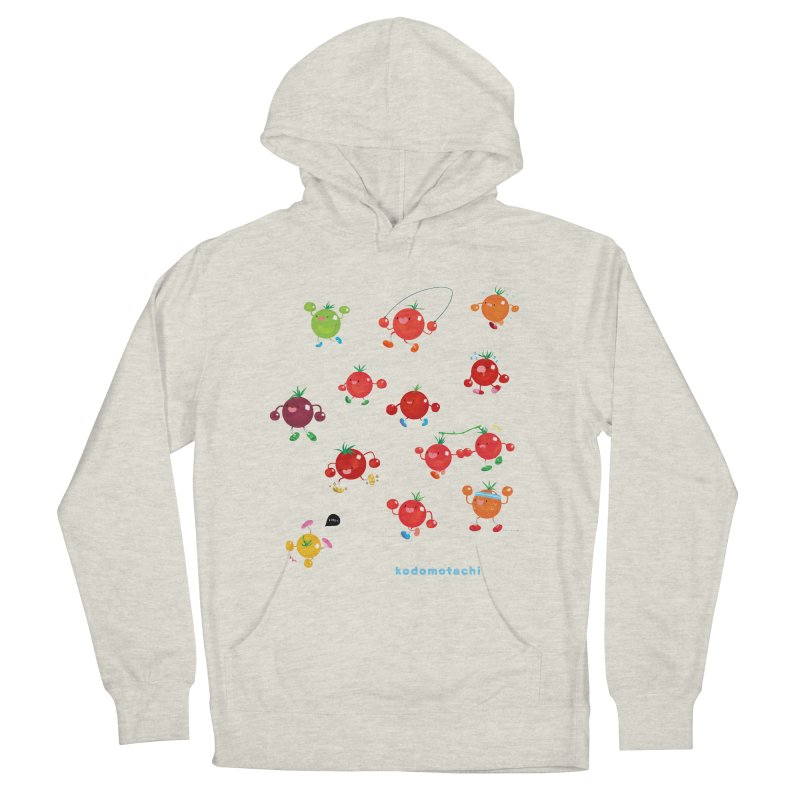 kodomotachi Women's French Terry Pullover Hoody by Hey there, Waterbear!