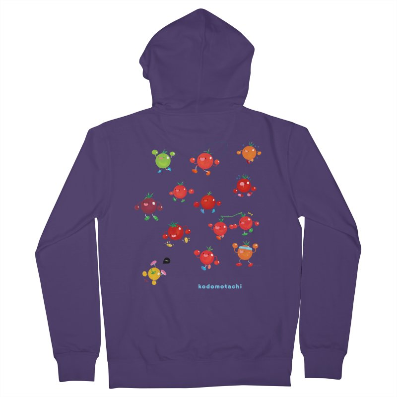 kodomotachi Women's French Terry Zip-Up Hoody by Hey there, Waterbear!