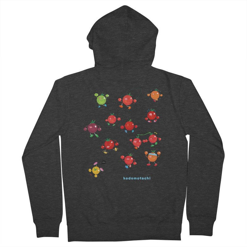 kodomotachi Men's French Terry Zip-Up Hoody by Hey there, Waterbear!