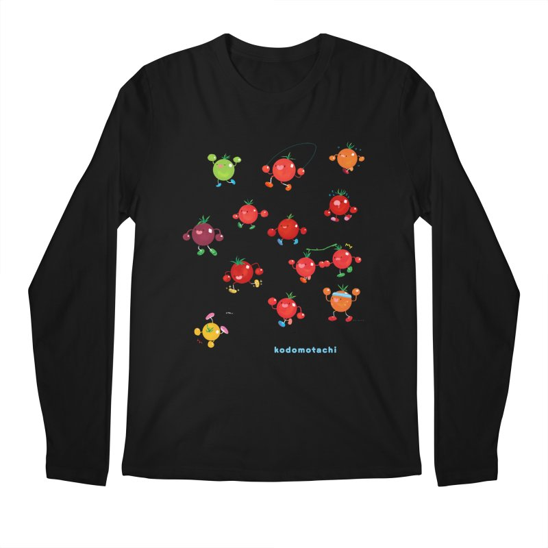 kodomotachi Men's Longsleeve T-Shirt by Hey there, Waterbear!