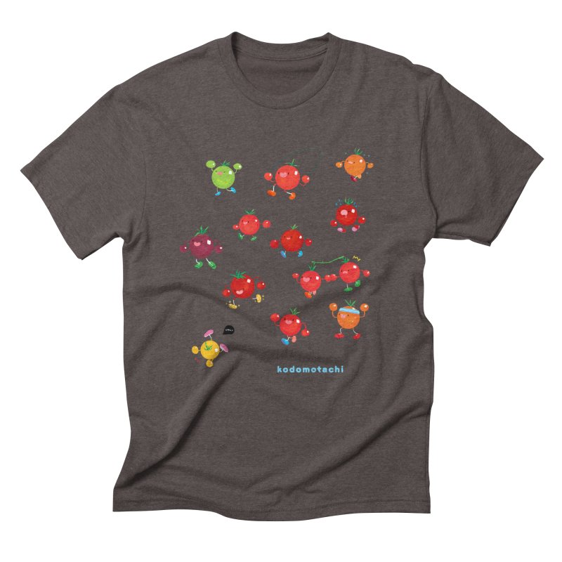 kodomotachi Men's Triblend T-shirt by Hey there, Waterbear!