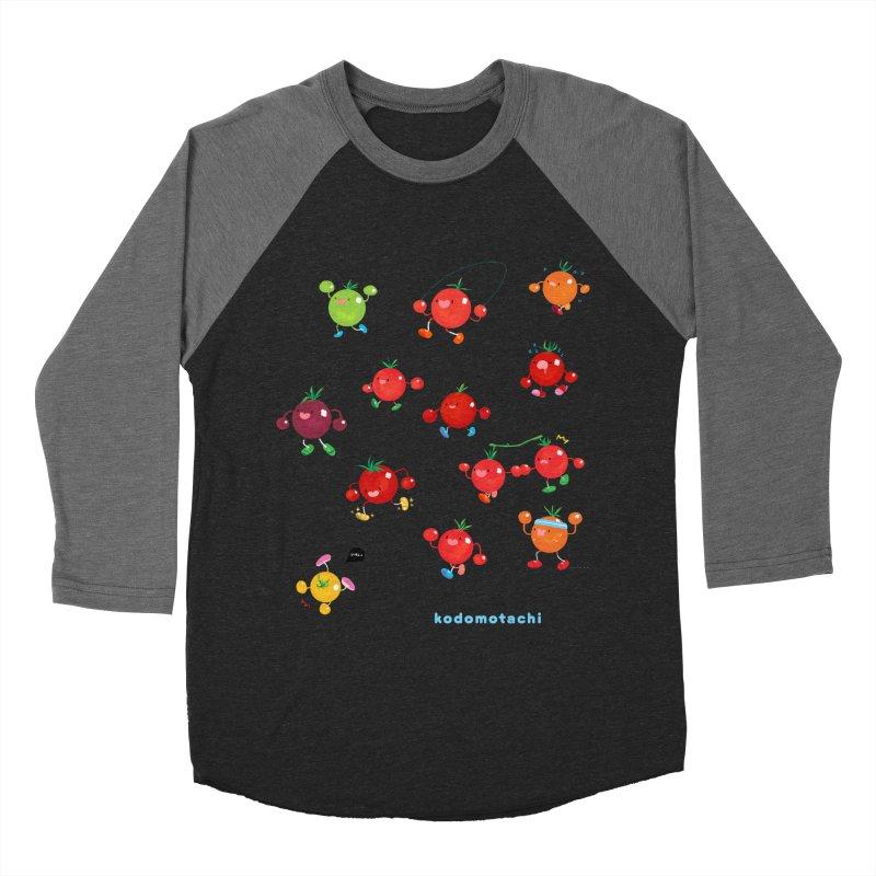 kodomotachi Women's Baseball Triblend Longsleeve T-Shirt by Hey there, Waterbear!