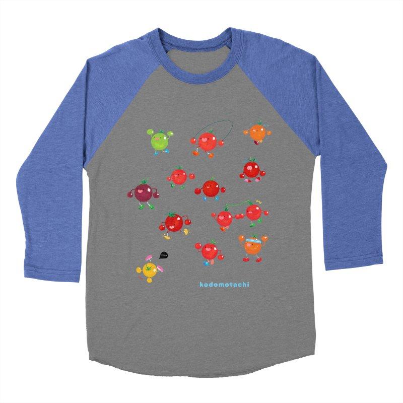 kodomotachi Men's Baseball Triblend T-Shirt by Hey there, Waterbear!