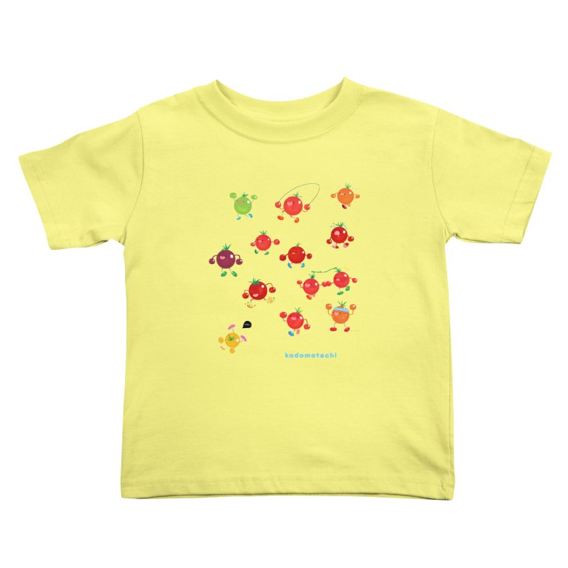 kodomotachi Kids Toddler T-Shirt by Hey there, Waterbear!