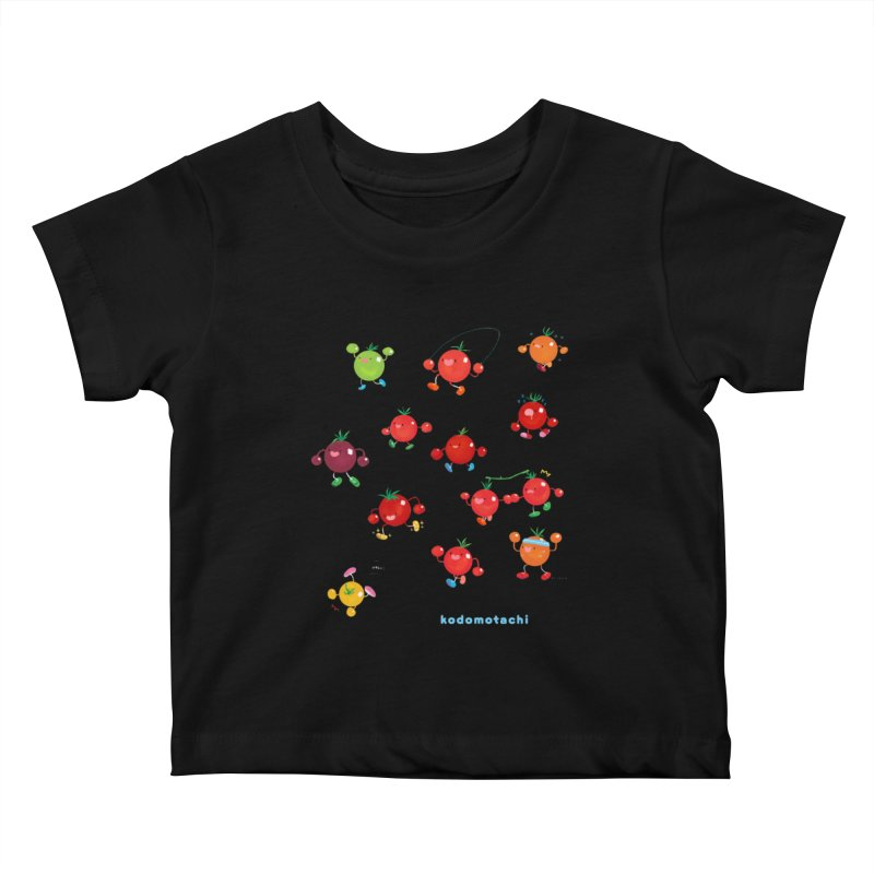 kodomotachi Kids Baby T-Shirt by Hey there, Waterbear!