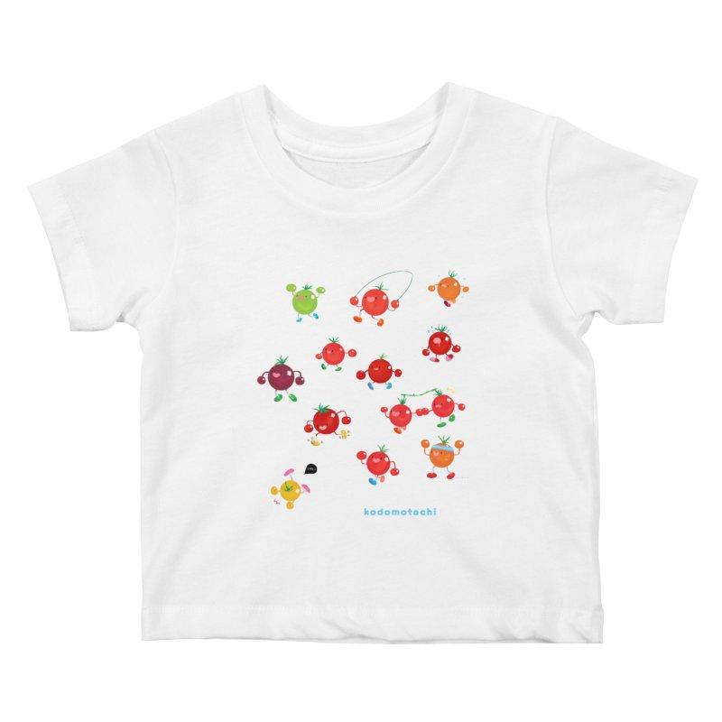 kodomotachi Kids Baby T-Shirt by Hey there, Waterbear!