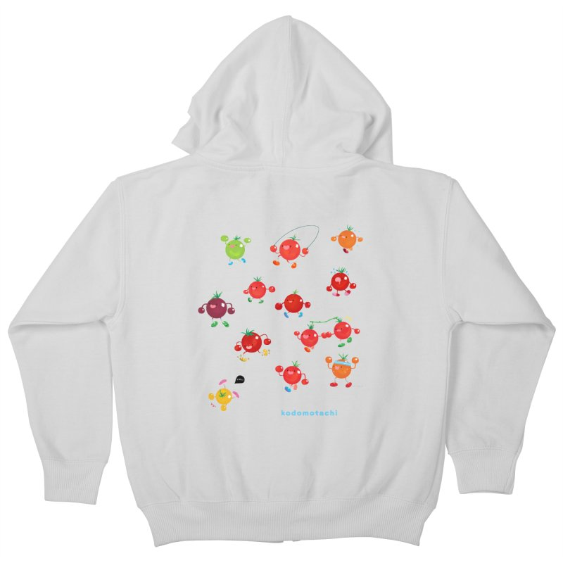 kodomotachi Kids Zip-Up Hoody by Hey there, Waterbear!