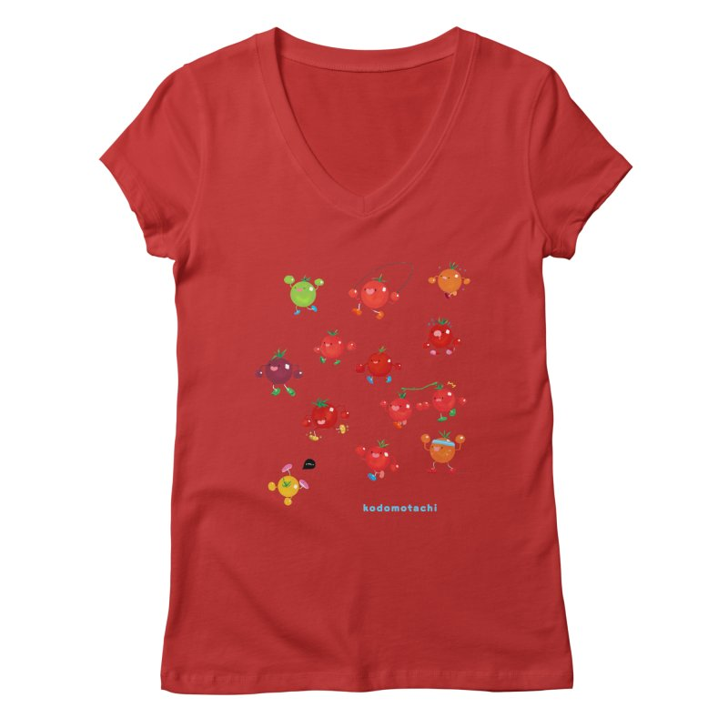 kodomotachi Women's Regular V-Neck by Hey there, Waterbear!