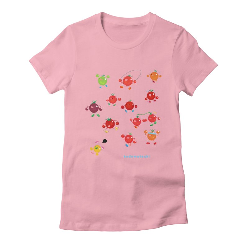 kodomotachi Women's Fitted T-Shirt by Hey there, Waterbear!