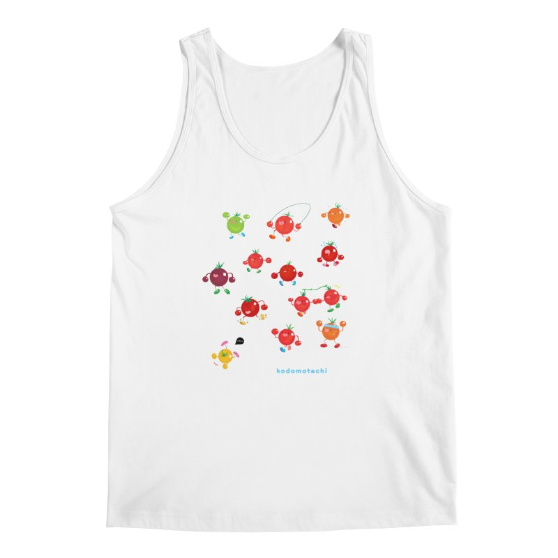 kodomotachi Men's Regular Tank by Hey there, Waterbear!
