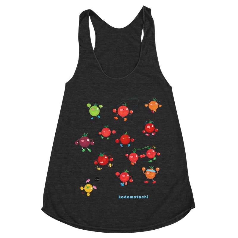 kodomotachi Women's Racerback Triblend Tank by Hey there, Waterbear!