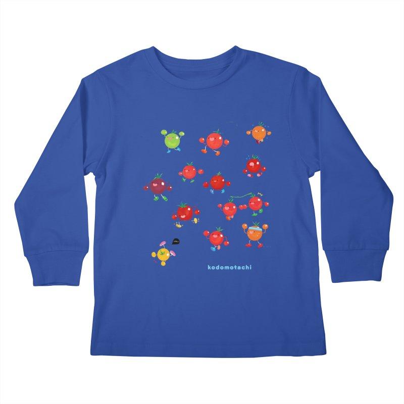 kodomotachi Kids Longsleeve T-Shirt by Hey there, Waterbear!