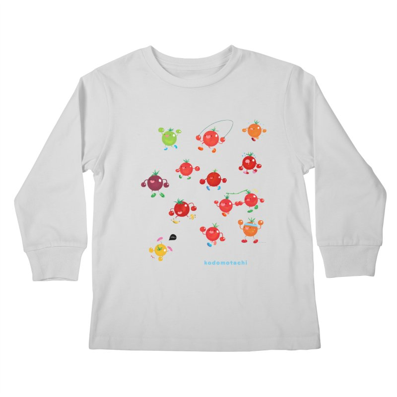 kodomotachi Kids Longsleeve T-Shirt by Hey there, Waterbear!
