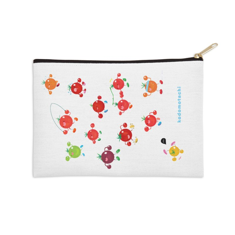 kodomotachi Accessories Zip Pouch by Hey there, Waterbear!