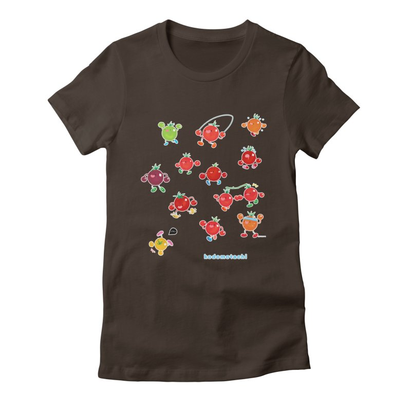 kodomotachi (version 2) Women's Fitted T-Shirt by Hey there, Waterbear!