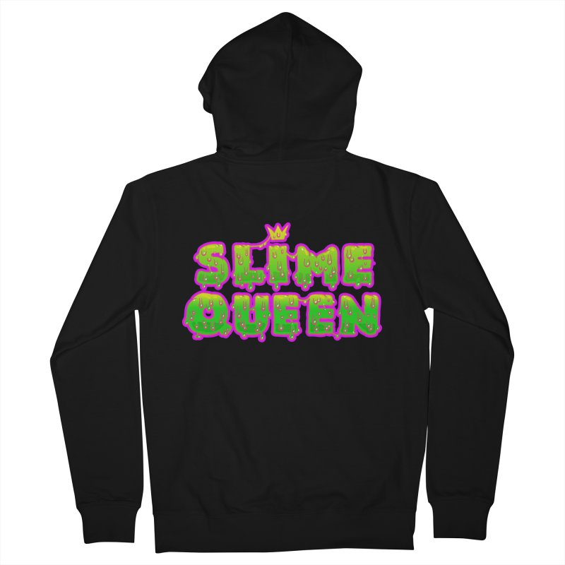 SLiME QUEEN Women's French Terry Zip-Up Hoody by Hey there, Waterbear!