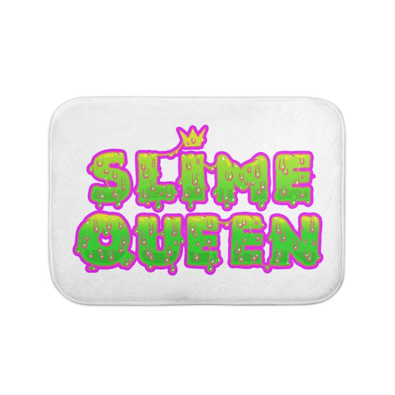 SLiME QUEEN Home Bath Mat by Hey there, Waterbear!