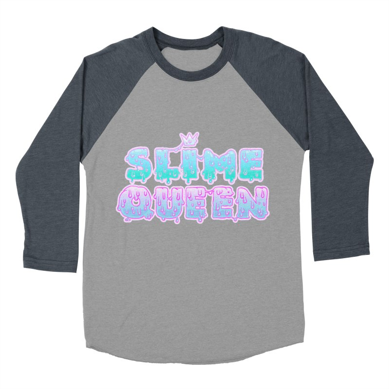 SLiME QUEEN (soft goth) Women's Baseball Triblend Longsleeve T-Shirt by Hey there, Waterbear!