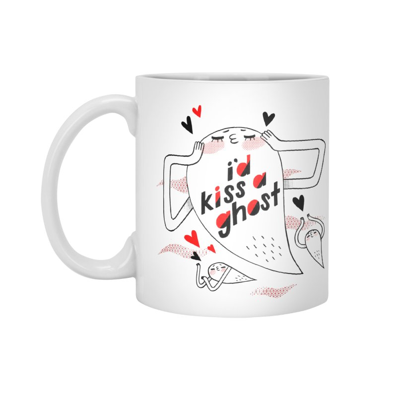 Ghost Kisser Accessories Mug by Hey there, Waterbear!