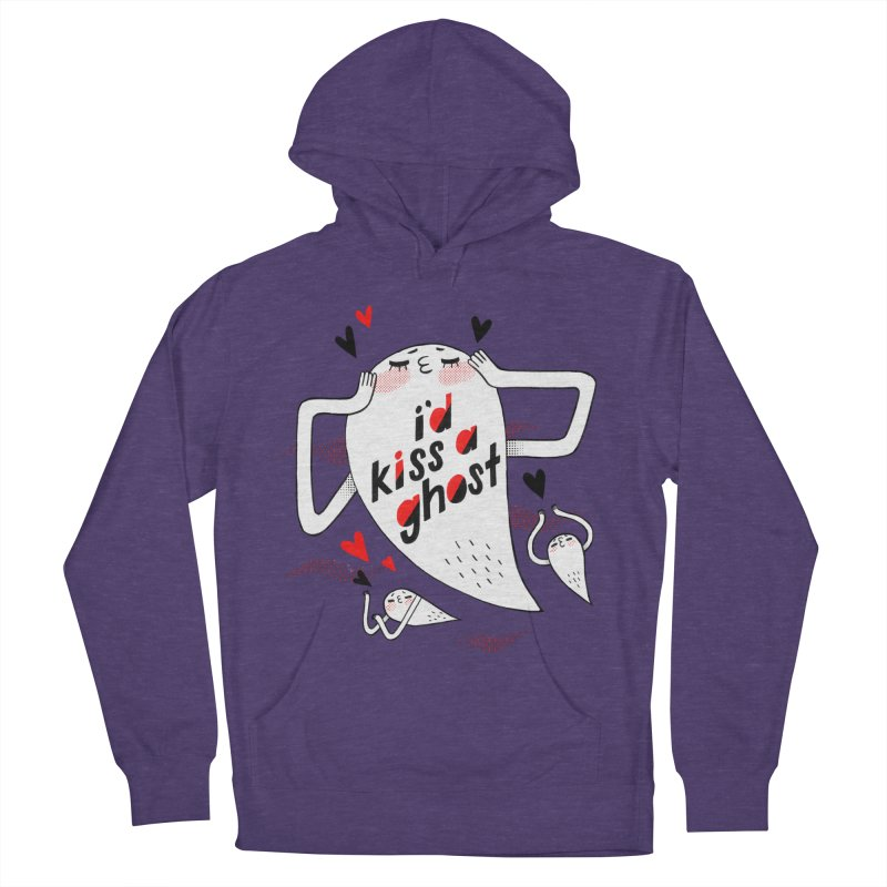 Ghost Kisser Men's Pullover Hoody by Hey there, Waterbear!