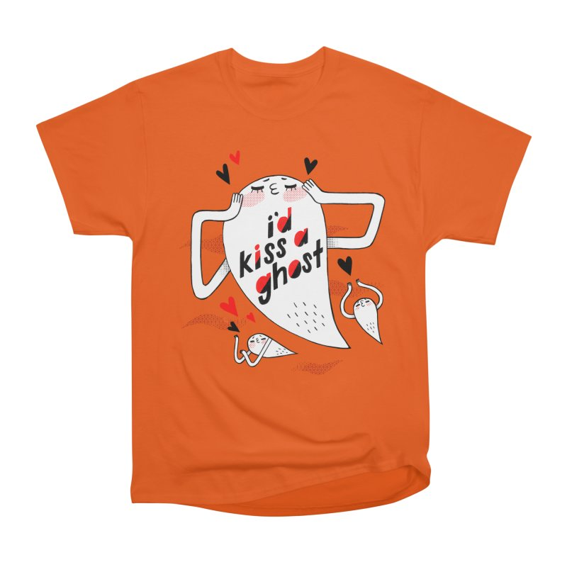 Ghost Kisser Women's Classic Unisex T-Shirt by Hey there, Waterbear!