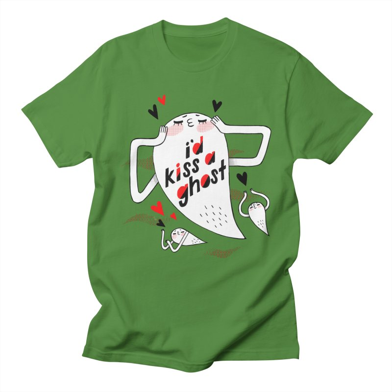 Ghost Kisser Men's T-Shirt by Hey there, Waterbear!