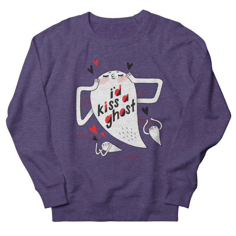 Ghost Kisser Men's Sweatshirt by Hey there, Waterbear!