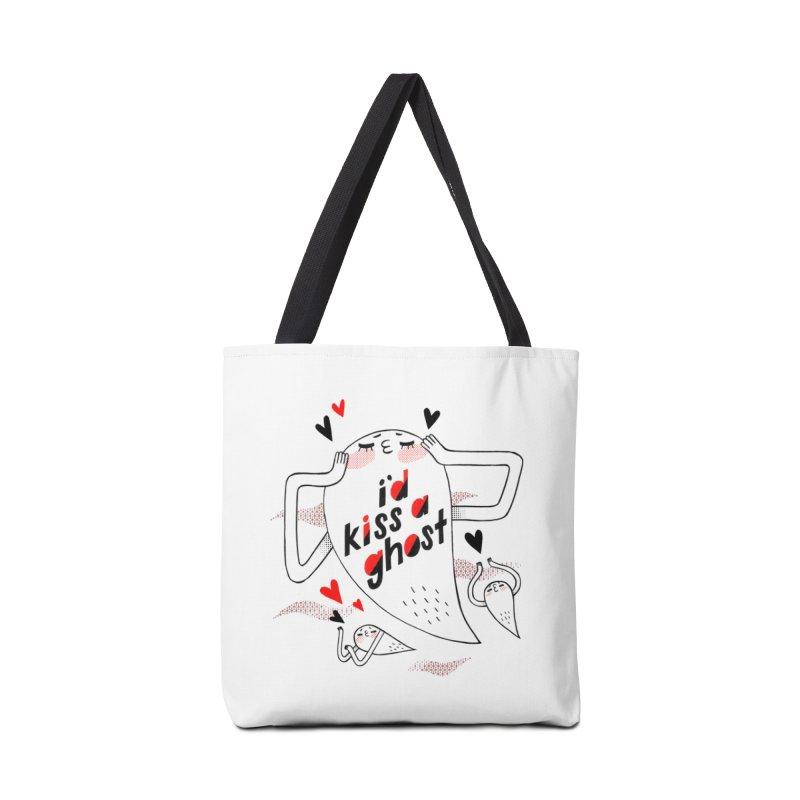 Ghost Kisser Accessories Bag by Hey there, Waterbear!