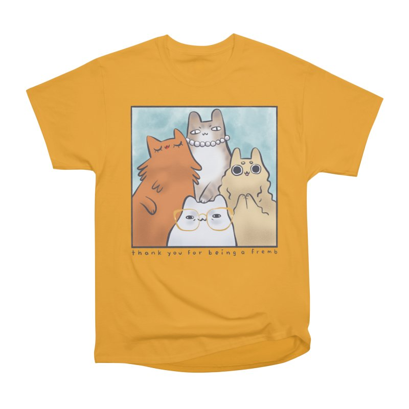 Golden Frembs Women's Classic Unisex T-Shirt by Hey there, Waterbear!