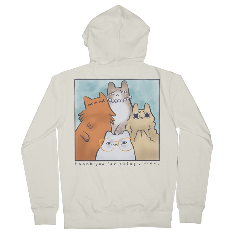 Golden Frembs Women's Zip-Up Hoody by Hey there, Waterbear!