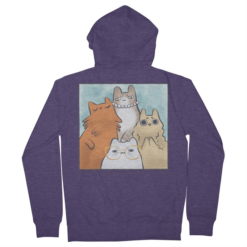 Golden Frembs Men's French Terry Zip-Up Hoody by Hey there, Waterbear!