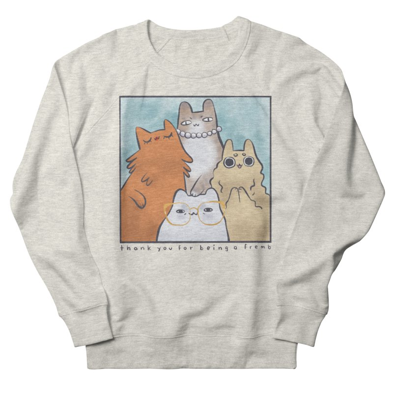 Golden Frembs Men's French Terry Sweatshirt by Hey there, Waterbear!